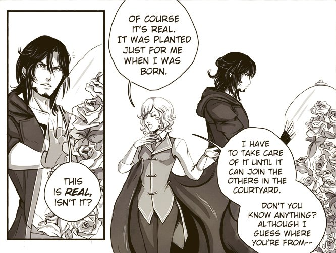 Our #webcomic Apocrypha updated with 2 new pages today~! I feel these two were important to upload together. I want to finish our Tapas reboot soon too.... Read them here!  #webcomics #indiecomics #comics #coolhashtag #apocryphacomic