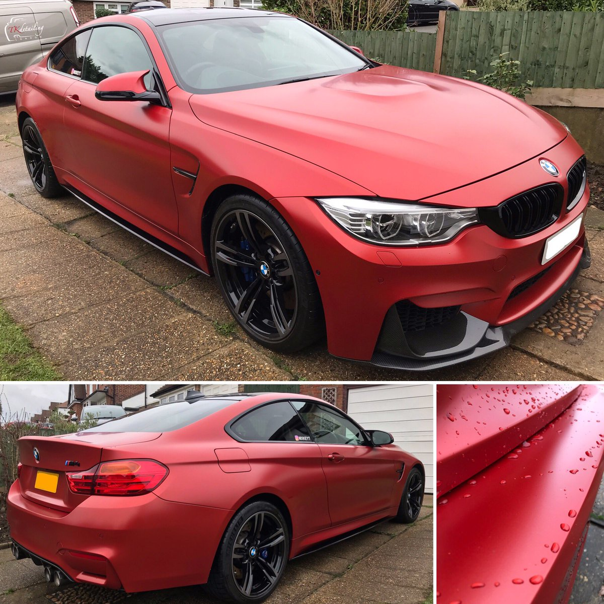 Tkdetailing London On Twitter Frozen Red Bmw M4 Matte Valet Frozen Red Carswithoutlimits Details Detailing Mpower Itsallinthedetails Carcare Automotive Experiencetruedetailing Carporn Itswhitenoise Pvdapproved Tkdetailingcars