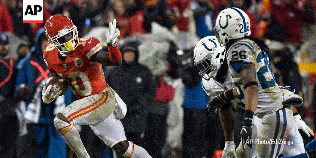 AP NFL's photo on Arrowhead