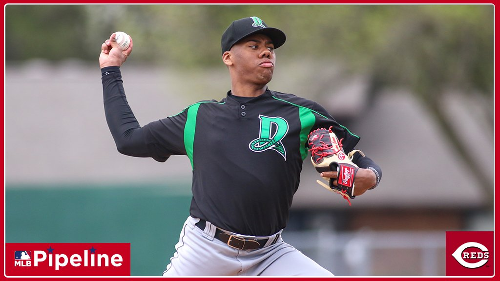 #Reds No. 3 prospect Hunter Greene has been hitting 100 mph since his high school days. His 80-grade heater ranks as one of the best among #MLB prospects: http://atmlb.com/2TIiuoP