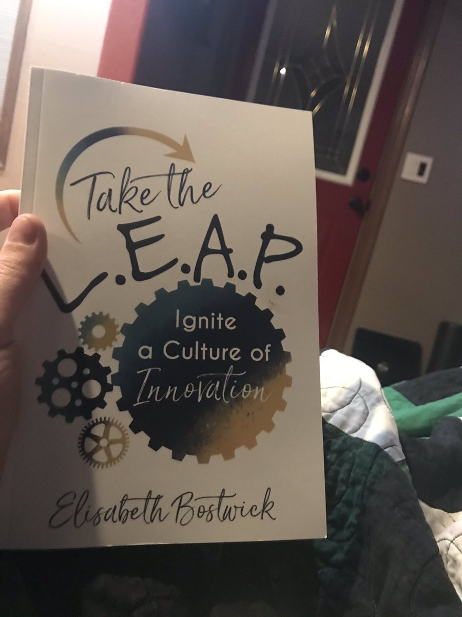 Excited to curl up with this tonight! @ElisaBostwick #LEAPeffect