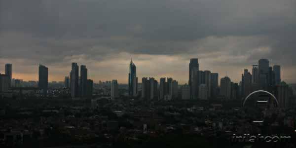 Hari Minggu, Pagi-Sore Jakarta Diguyur Hujan Photo