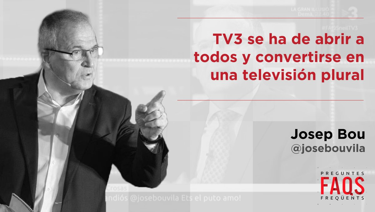 Josep Bou Vila's photo on #faqstv3