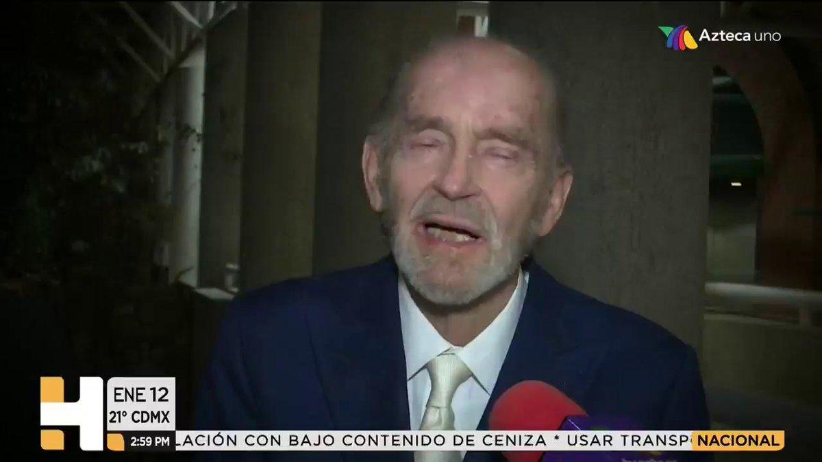Azteca Noticias's photo on fernando luján