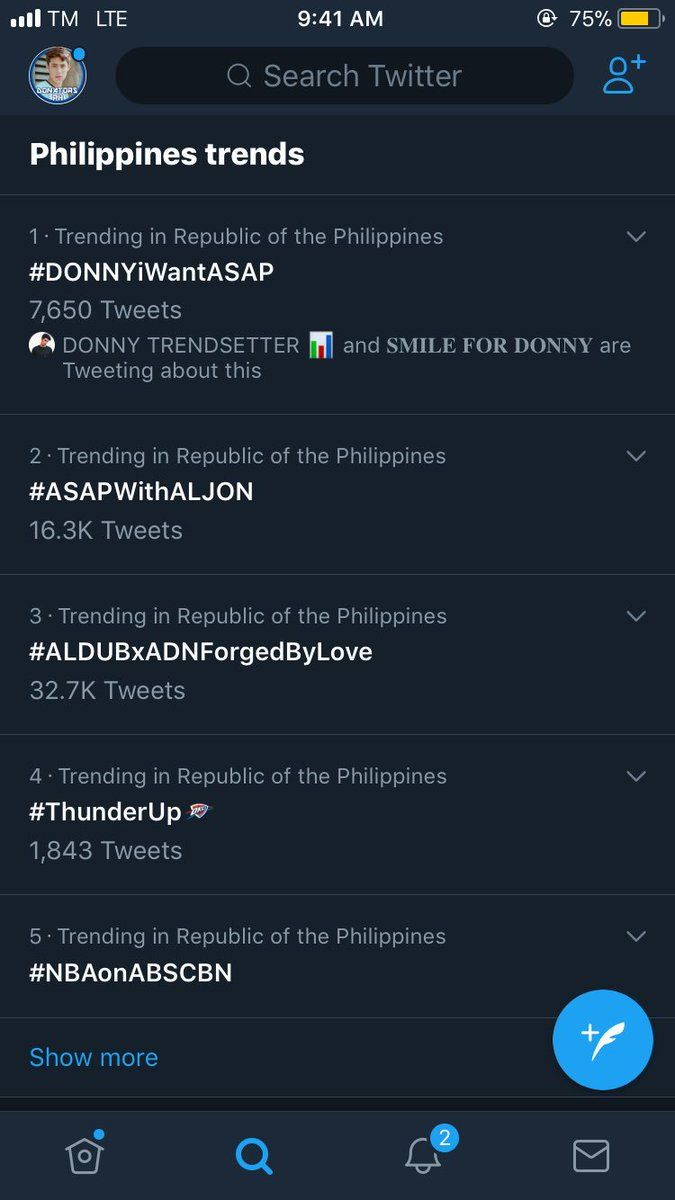 Trending No.1 spot!!! Thank you solids and shippers for the support!!! Were so excited to see you later! @donnypangilinan #DONNYiWantASAP <br>http://pic.twitter.com/yr11pJOeC9