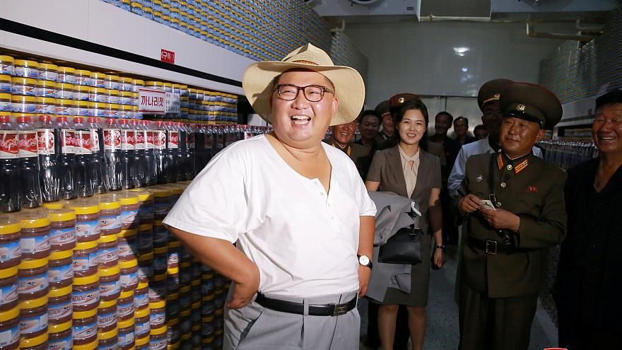 Supreme Leader Kim Jong-Un said by many on Twitter and Face Book to 'shirtiest' of all world leaders.
