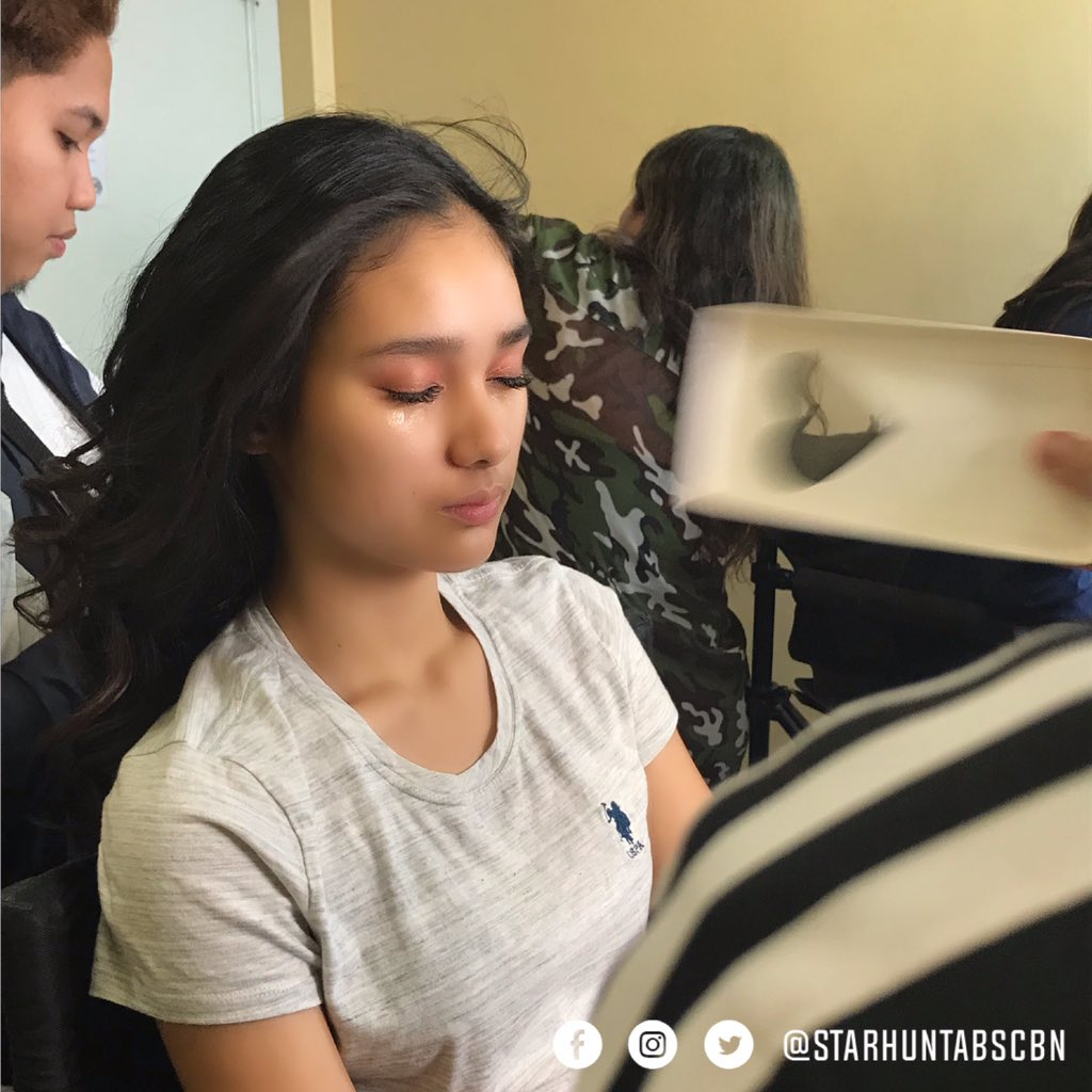 RT @starhuntabscbn: Kare getting ready for ASAP! 🌟💄 https://t.co/CirirCeImf