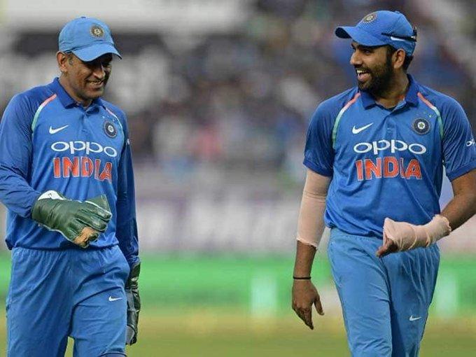 India vs Australia: MS Dhoni Is Like A Guiding Light For Team India, Says RohitSharma Photo
