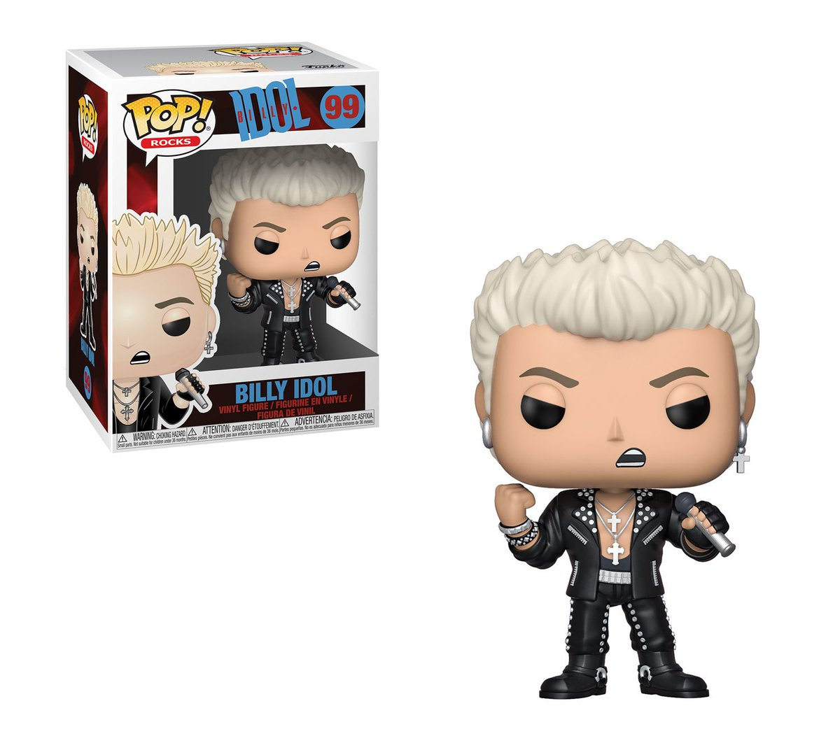RT & follow @OriginalFunko for a chance to WIN a Billy Idol Pop!