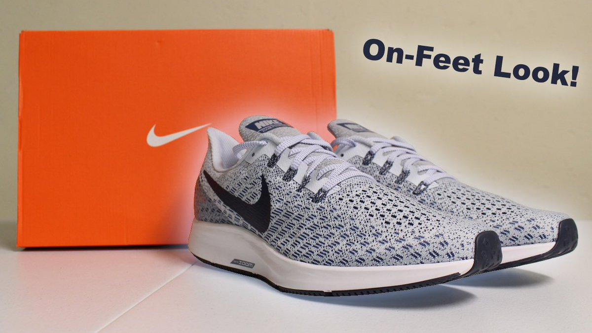"""New video alert 🚨 The  unboxing for the Air Zoom Pegasus 35 """"Football Grey e321a3ba4"""