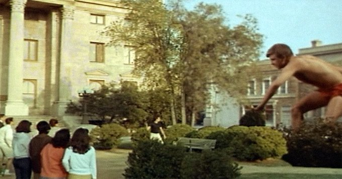 Recognize that clock tower? This city square set was also used as Hill Valley in the Back to the Future movies! #Svengoolie Photo