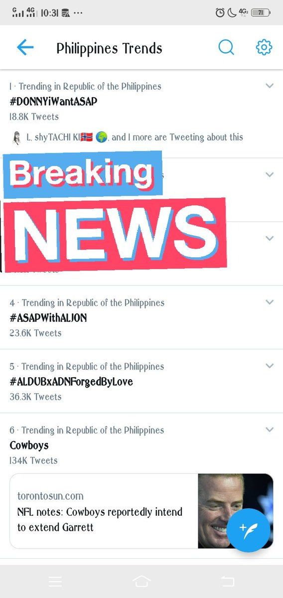 wow!!!! Congrats Dfam at Dk babies!   Donny&#39;s tag is #1 trending nationwide!!!!  #DONNYiWantASAP  @donnypangilinan<br>http://pic.twitter.com/JuT2ilRRwx