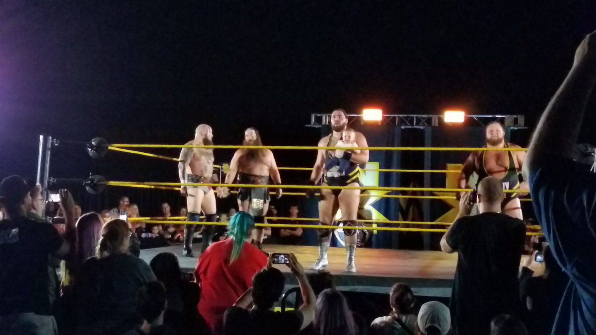NXT Live Event Results From Orlando (1/12): WWE Call-ups Say Farewell, Candice LeRae Stops Handshake