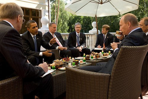 I participated in many meetings between Obama and Putin and Medvedev. We always had a small group of advisors and a notetaker (often me). After one-on-one pull asides, Obama would brief me and then I would give readouts to other senior officials. Translators also debriefed me.