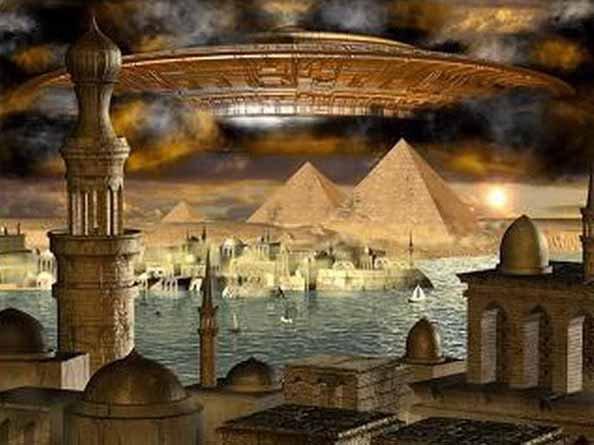 Pleiadian Mothership Pyramids