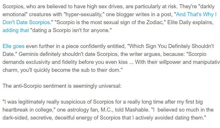 Scorpio Dark Energy