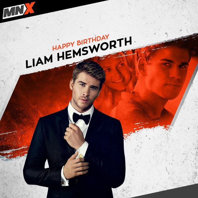 Wishing Hollywood s blue-eyed boy, Liam Hemsworth a very happy birthday!