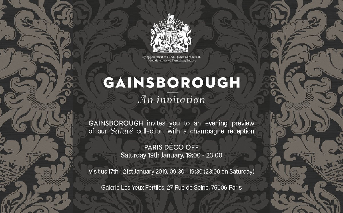 Gainsborough's photo on #Paris