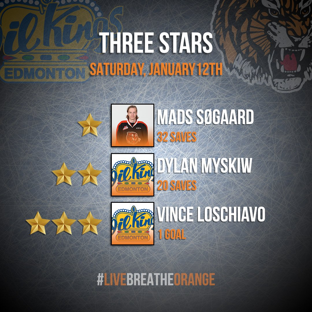 RT @tigershockey: Tonight's 3⃣ ⭐️s! #livebreatheorange #tigershockey #MHvsEDM #medhat https://t.co/s9uBc8WoD9