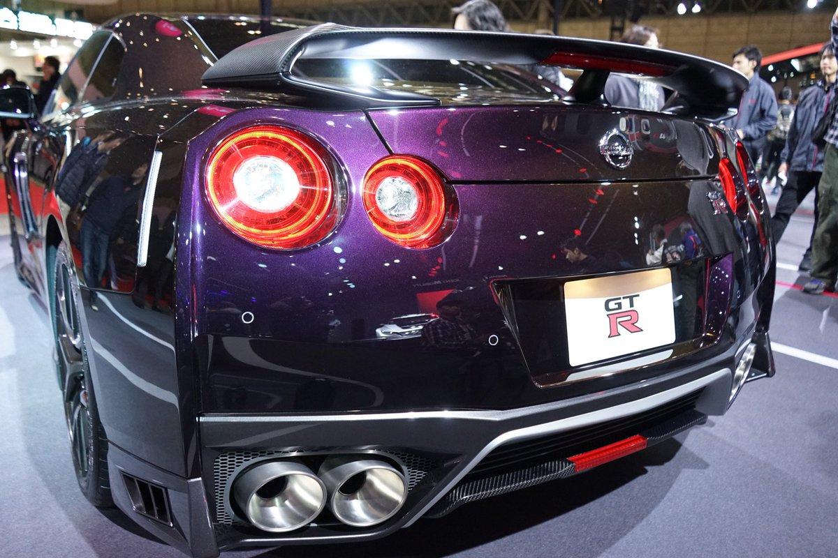 #大坂なおみ 選手 #日産 ブランドアンバサダー就任記念モデル です! #TAS2019 RT @seraph176137: 限定GT-Rの前後斜め45度あたりからのショットが見てみたい #NissanTAS
