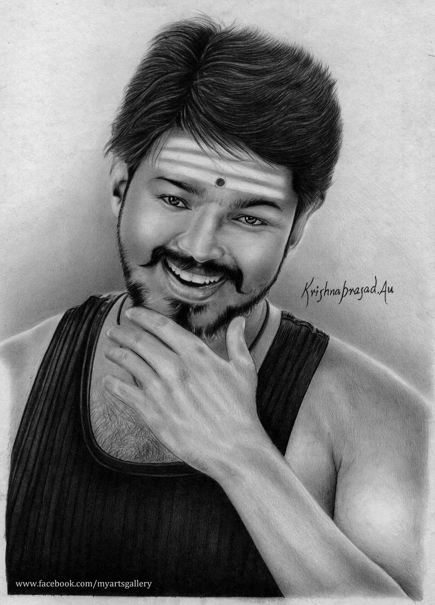 Vijay Sarkar Pencil Drawing Images