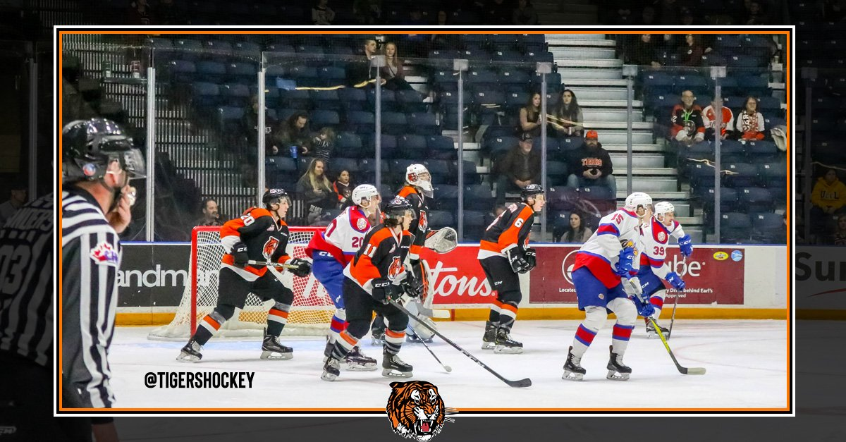 We came up short in a 2-1 overtime loss 📄 https://t.co/44L0bBl0dL #medhat #livebreatheorange #tigershockey #MHvsEDM https://t.co/8XSEHMlCnh