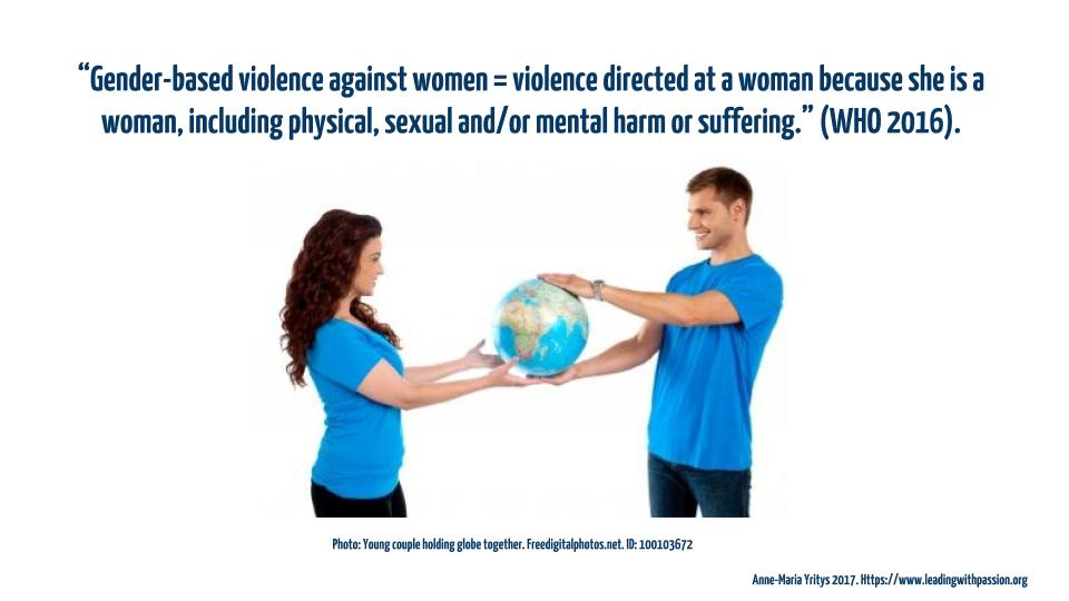 What is gender-based violence, and how can it be prevented? http://bit.ly/GENDEREQUALITY  Comment/share your thoughts: #feminism #metoo