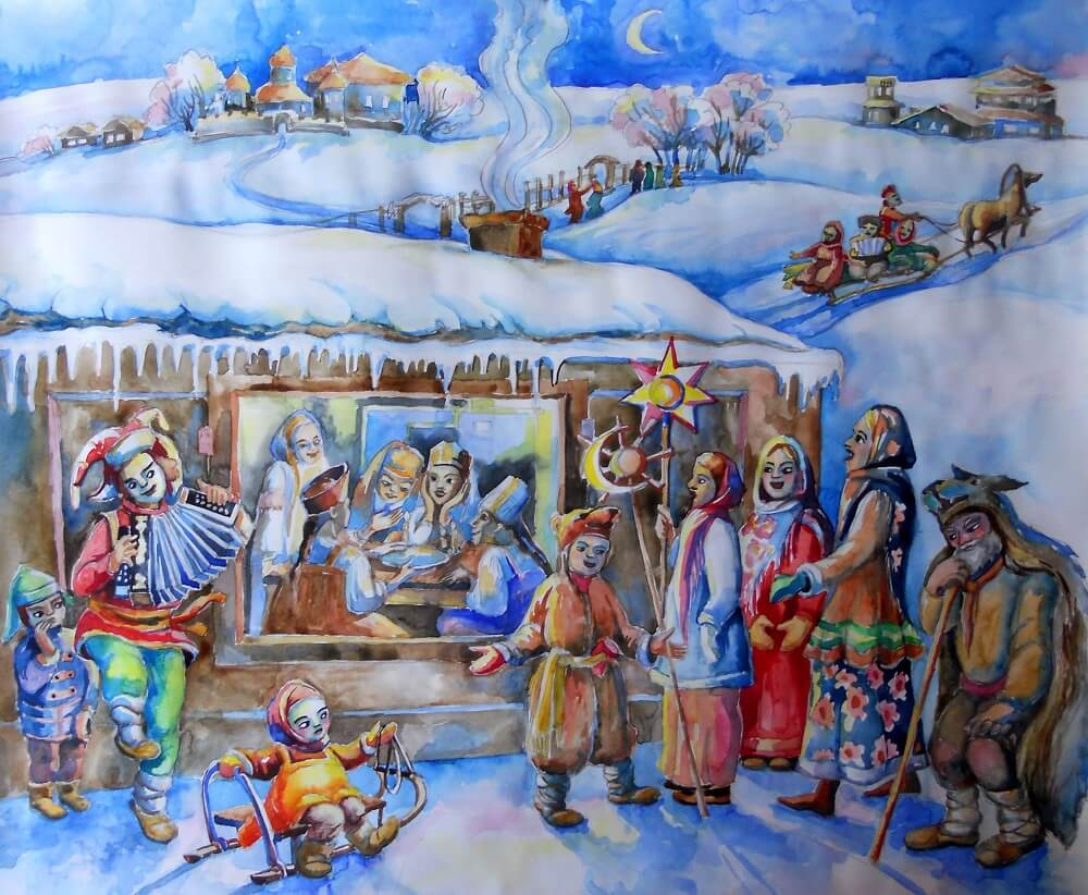 картинка славянское рождество это таинство