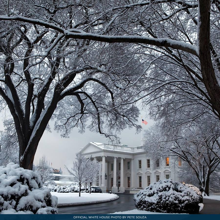 2019 White House Christmas Card.White House History On Twitter White House Photographer