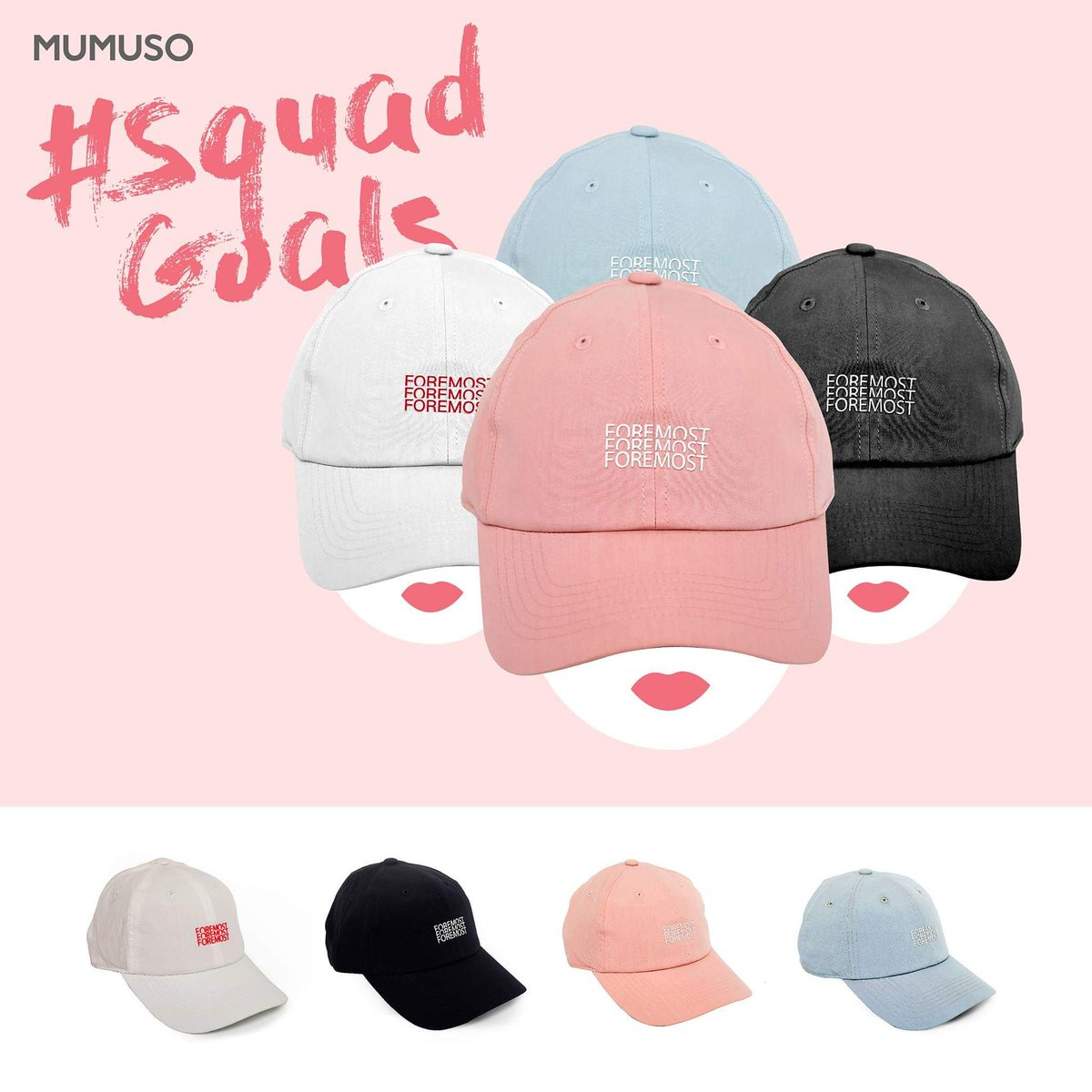 Cool caps for your cool squad! 😉👊  #Mumuso