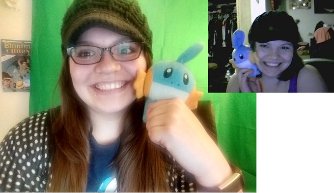 Everyone is doing the 10 year challenge I found one of my old photos that I took with my first web cam back when I was slamming the shit out of tf2. Same Hat. Same Mudkip. #10yearchallenge Photo