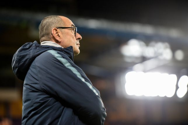 EPL: Sarri reveals Chelsea player that was in trouble during 2-1 win over Newcastle Photo