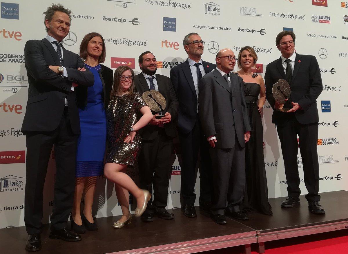 Cien de Cine's photo on #PremiosForqué