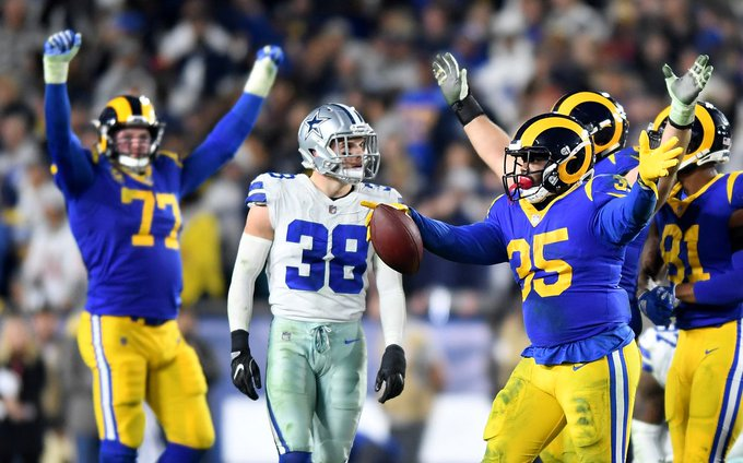 Rams defeat the Cowboys 30-22 to advance to NFC championship game Photo