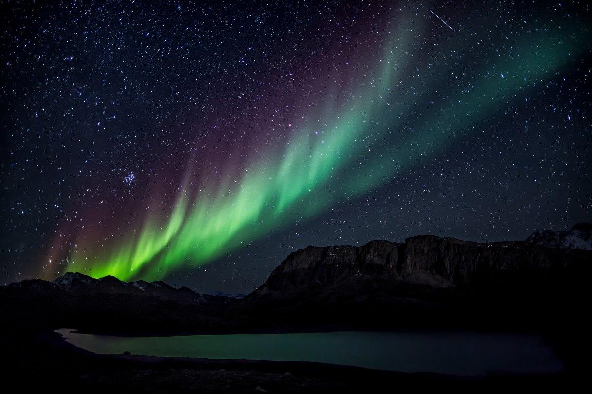 Aurora Borealis, #Greenland Photo by @Visitgreenland<br>http://pic.twitter.com/Gfr7Z4EcyV
