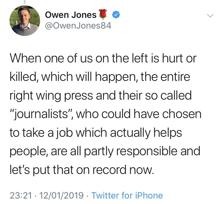 Jeremy Corbyn laid a wreath on the grave of a man responsible for rhe death of innocent Jews side by side with a man whose group was *at that time* planning to hack praying Jews to death with axes. Do actions have consequences?