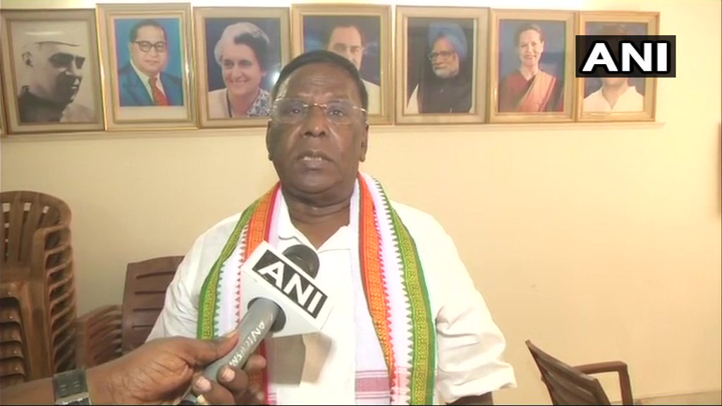 Puducherry CM V. Narayanasamy: Puducherry government to impose a ban on plastic usage from March 1, 2019. (File pic)