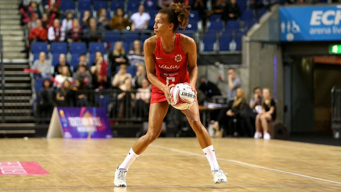 👀🌹 ROSES WATCH 🌹👀 @EnglandNetball back in action today as the #QuadSeries returns. @TamsinGreenway has five names to keep an eye on, both now and over the coming months. 👀📃👉 Photo
