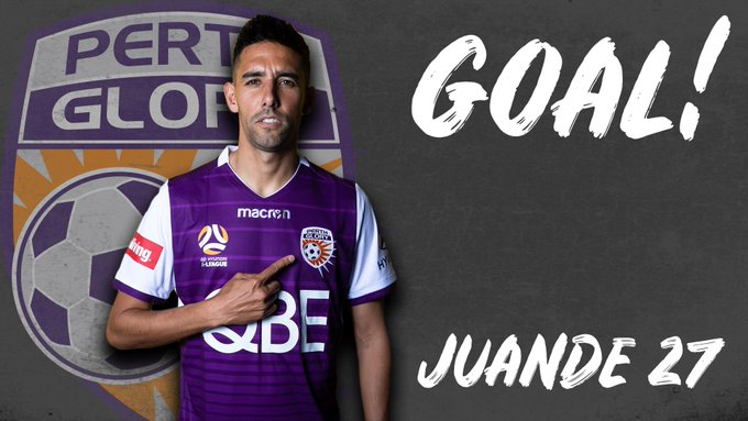YES YES YES YES YES!!!!! JUANDE!!!!!!!!!!!!!!!! GET IN! (4-3) #PERvWSW #OneGlory Photo