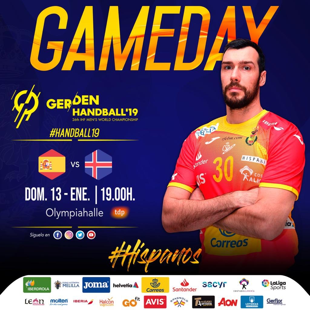 RFEBalonmano's photo on #GameDay