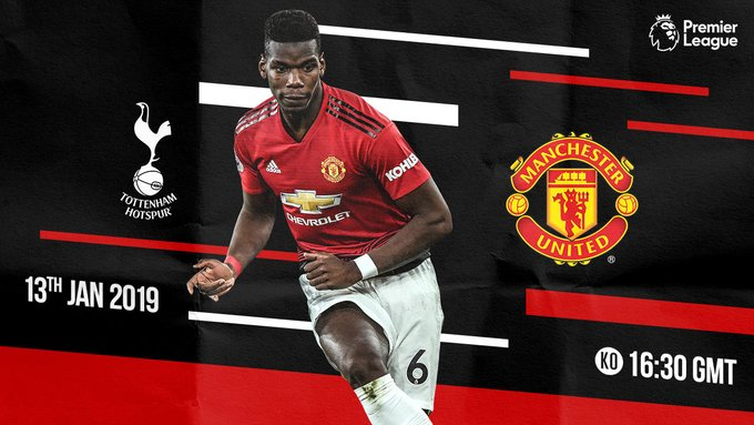 #TOTMUN 5hrs 30mins to the big game, come on lads. #GGMU Photo