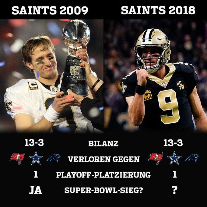 Okay Leute, das Ding ist durch. Die @Saints holen sich wohl den Titel ... 😱😱😱 #GoSaints #NFLPlayoffs Photo