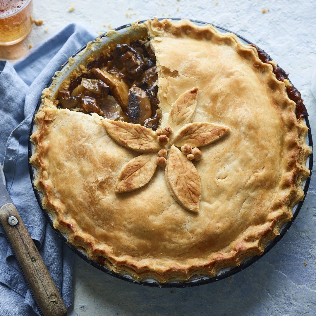 Bbc Food On Twitter All Ale The Mushroom And Ale Pie A