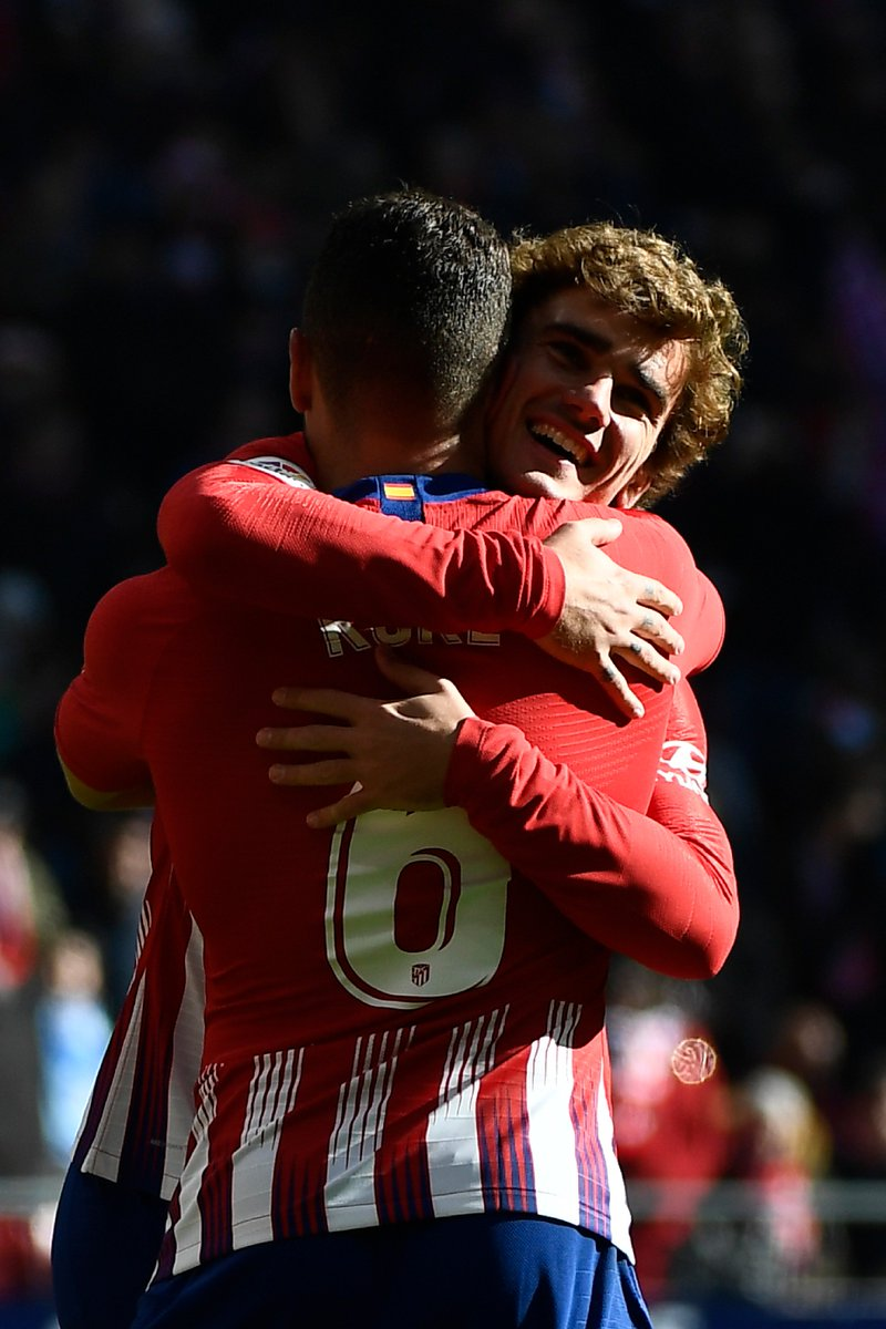 Antoine Griezmann has scored Atlético's last six goals in all competitions. 🔥  #UCL