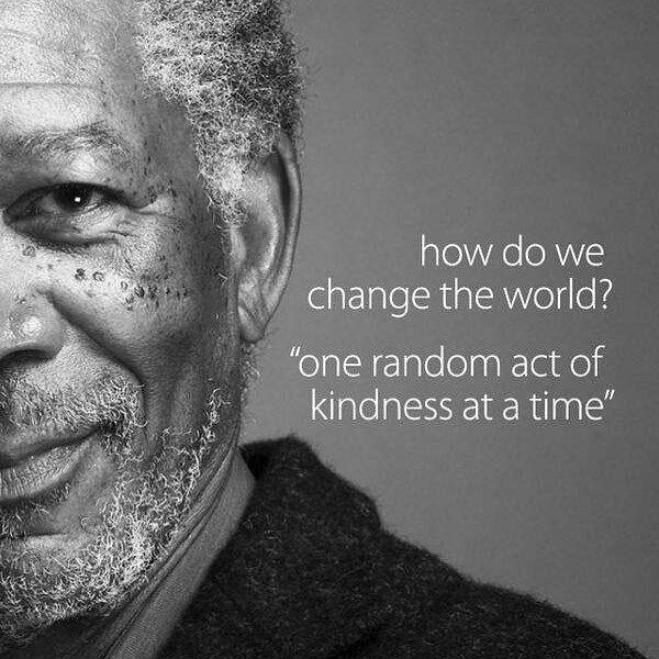 One random act of kindness act of kindness at a time... #PayItForward #Positivity #ThinkBigsundayWithMarsha<br>http://pic.twitter.com/5sFu3av10A