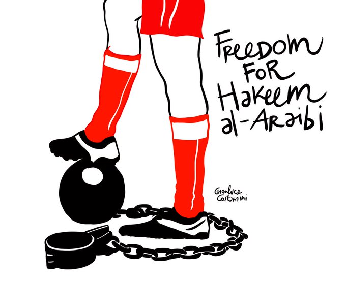 Thailand traditionally has a poor record of protecting refugees. It did the right thing (under huge pressure) for Rahaf. Now to do the same for football star Hakeem al-Araibi who fears detention and torture for his public criticism if sent back to Bahrain. Photo