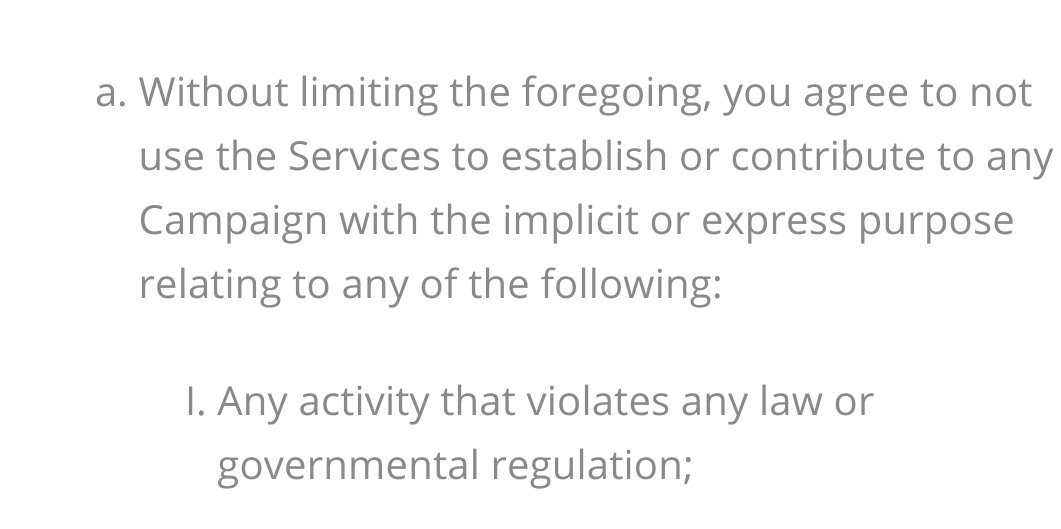 .@Donorbox, are you still going to keep James Goddard's funding up now he's been arrested? He's been violating your own ToS. https://donorbox.org/terms