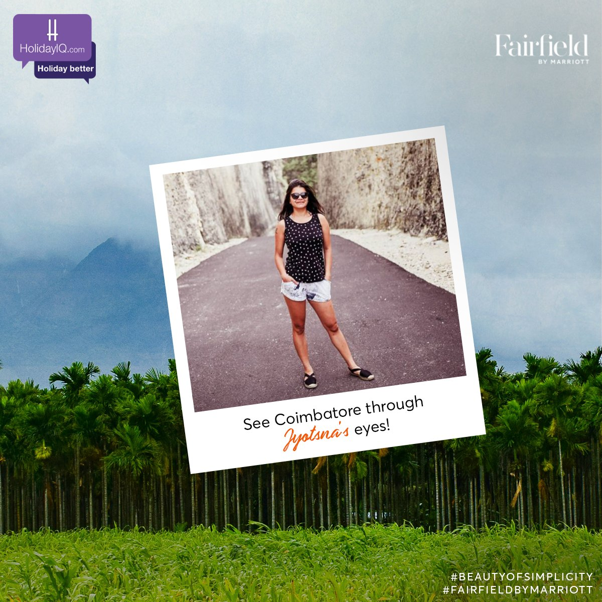 Hey there, get to know our vibrant traveller Jyotsna Ramani.   Follow her as she explores Coimbatore.  Watch this space to know more and do share your thoughts in the comments section.  #BeautyOfSimplicity #FairfieldByMarriott #holidayiq #holidayiqcommunity https://t.co/4rptDkTFbl