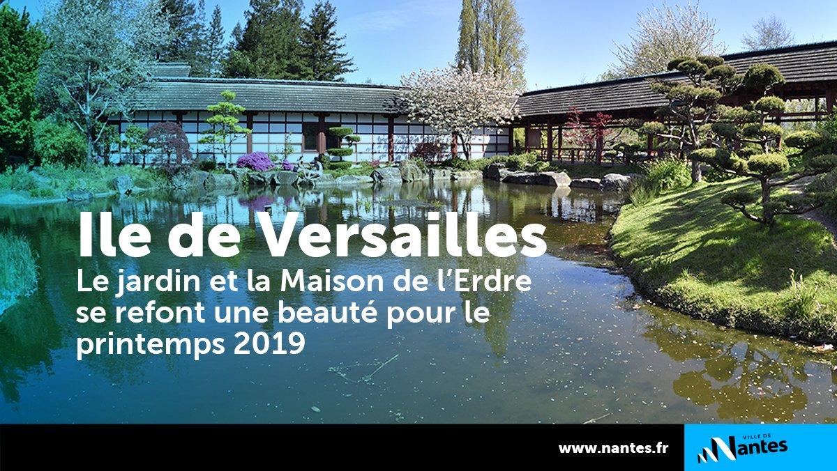 Ville De Nantes On Twitter L Ile De Versailles Fait Peau Neuve