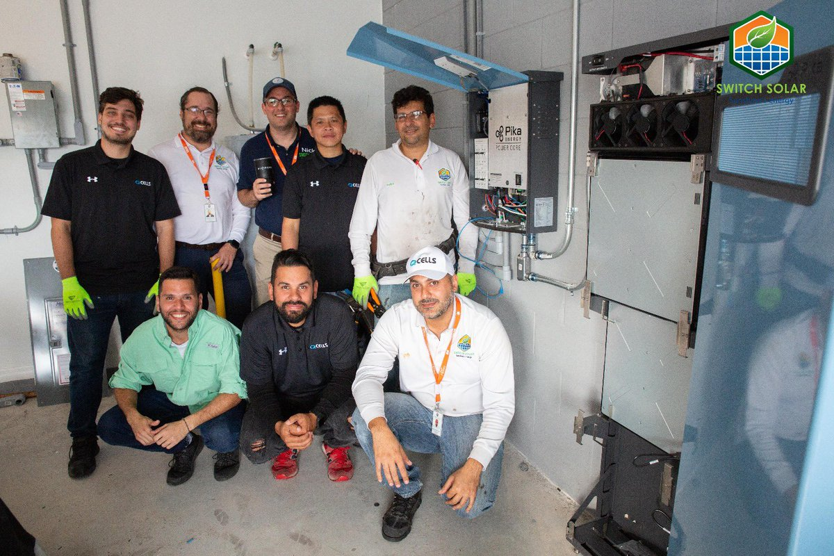 Congrats to our sales and installation teams for a great start of the year, commisioning one more Pika islanding inverter and Harbor Smart Battery Energy Storage Solution. @PikaEnergy @DividendNow #pikaenergy #solarstorage #topsolarcontractor #SolarPower #solarstorage #selfsupplypic.twitter.com/XflzjL2S9B